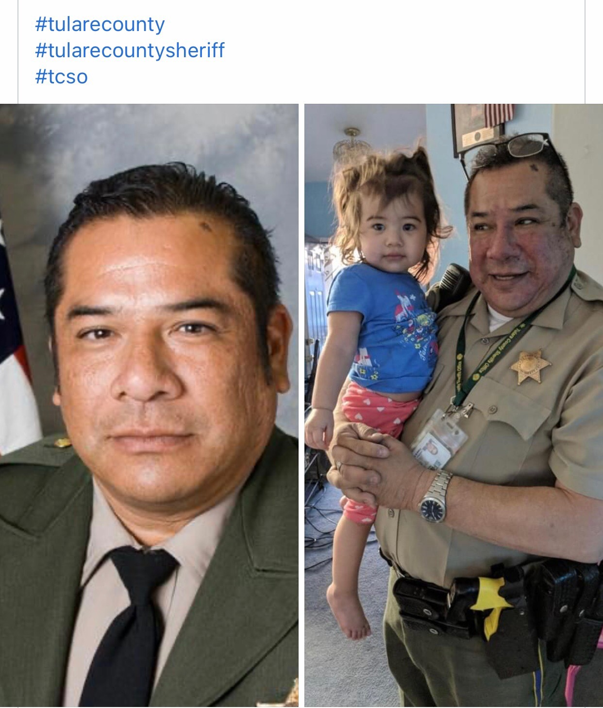tulare sheriff passes away